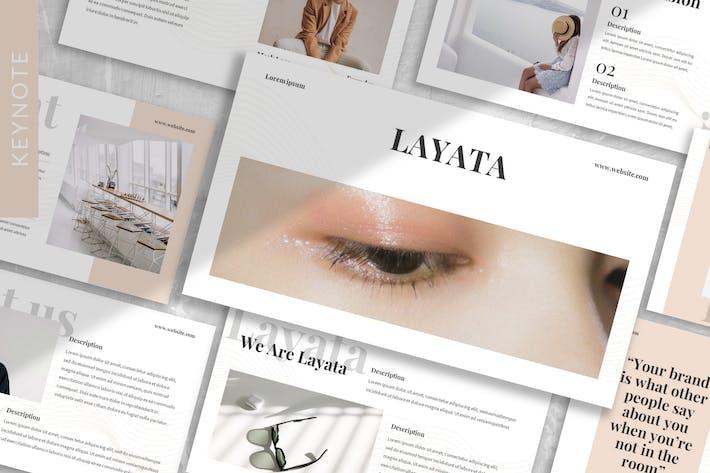 Thumbnail for Layata - Шаблон Keynote фирменной идентичности