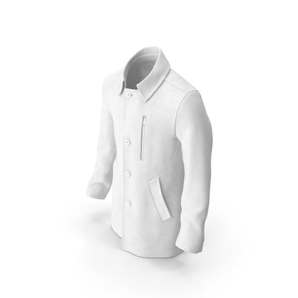 Thumbnail for Mens Coat White