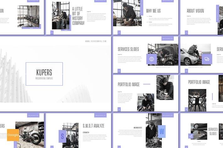 Thumbnail for Kupers - Google Slides Template