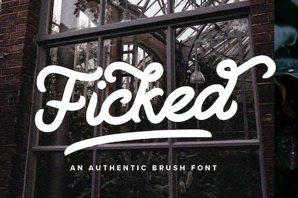 Fickked - Monoline Script