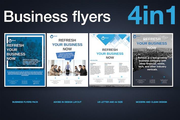 Thumbnail for Multipurpose Business Flyer Pack v.2