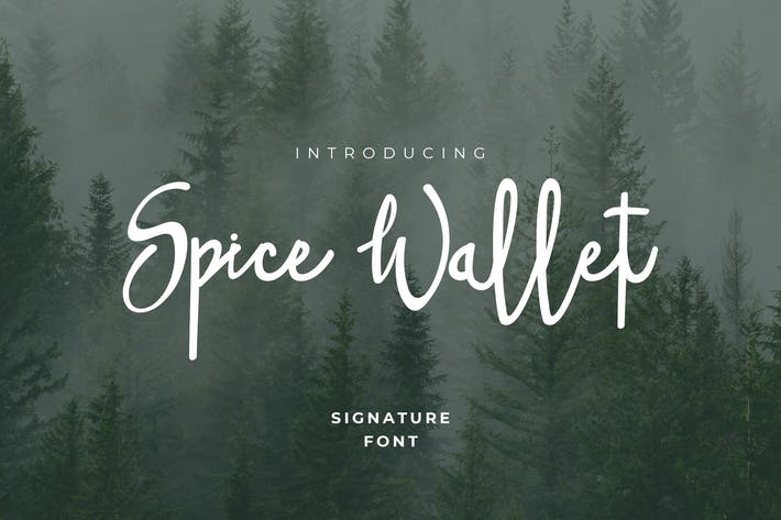 Cover Image For Spice Wallet Handwritten Style