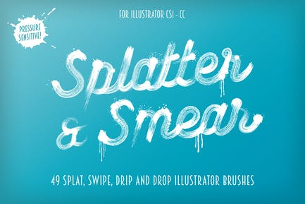 Splatter & Smear Brushes
