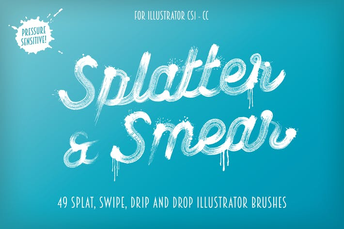 Thumbnail for Splatter & Smear Brushes