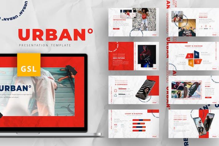 Thumbnail for Urban - Hype Modern Google Slides Template