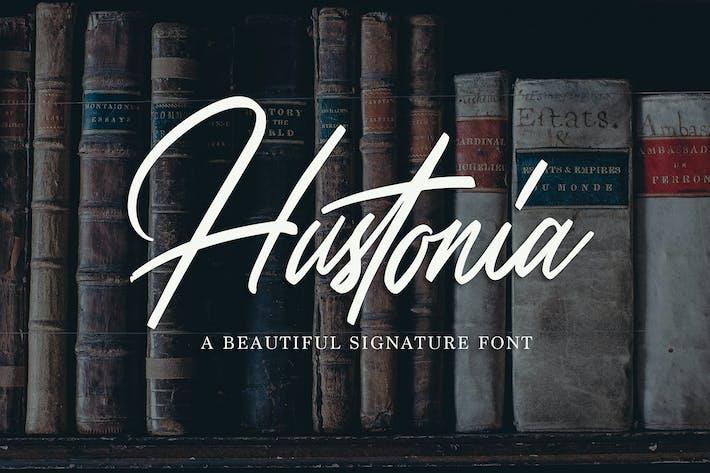 Hustonia - Script Font