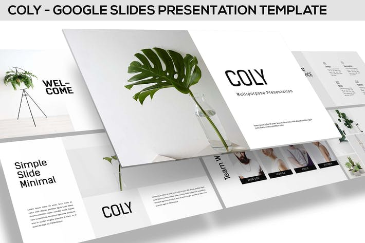 Cover Image For Coly - Google Slides Template