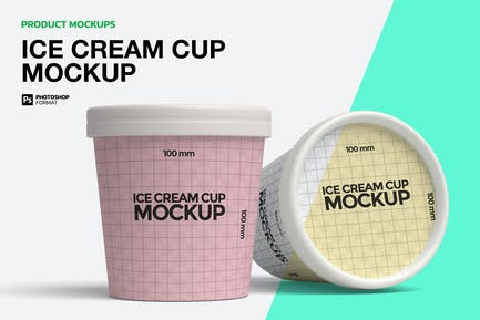 Ice Cream Cup - Mockups