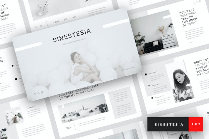 Sinestesia - Magazine PowerPoint Template