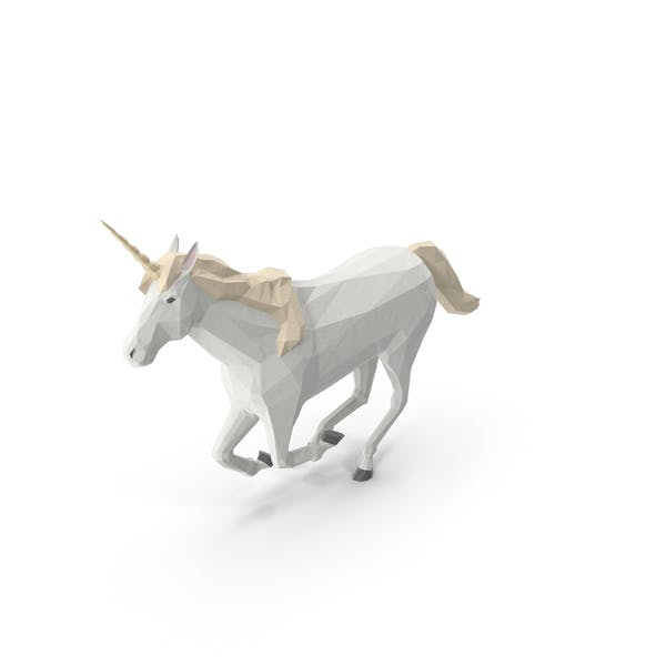 Thumbnail for Low Poly Unicorn