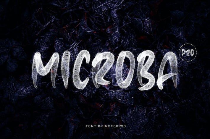 Thumbnail for Microba Pro SVG Font