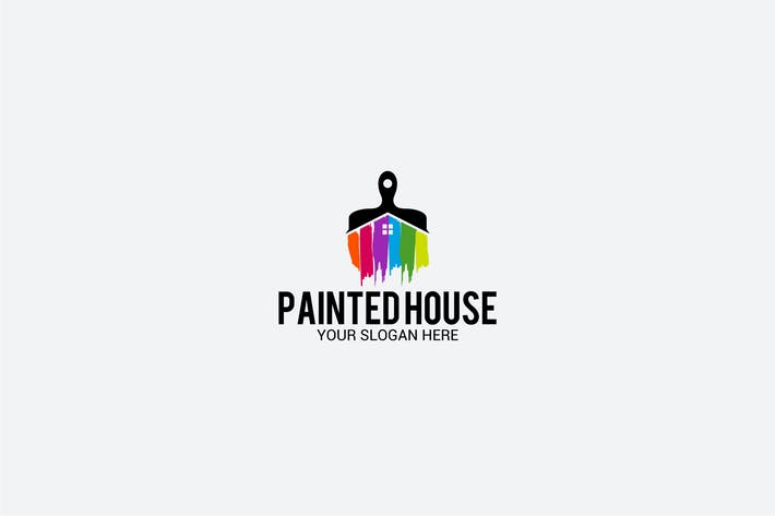 Cover Image For PAINTED HOUSE