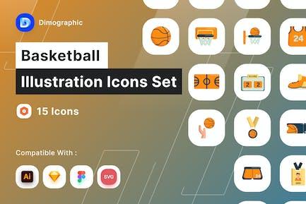 Basketball-Symbol Pack