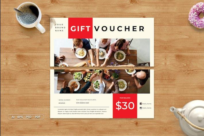 Chèque-cadeau déjeuner
