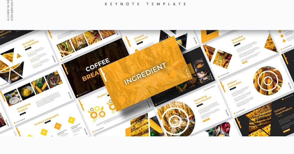 Download Ingredient - Keynote Template by aqrstudio