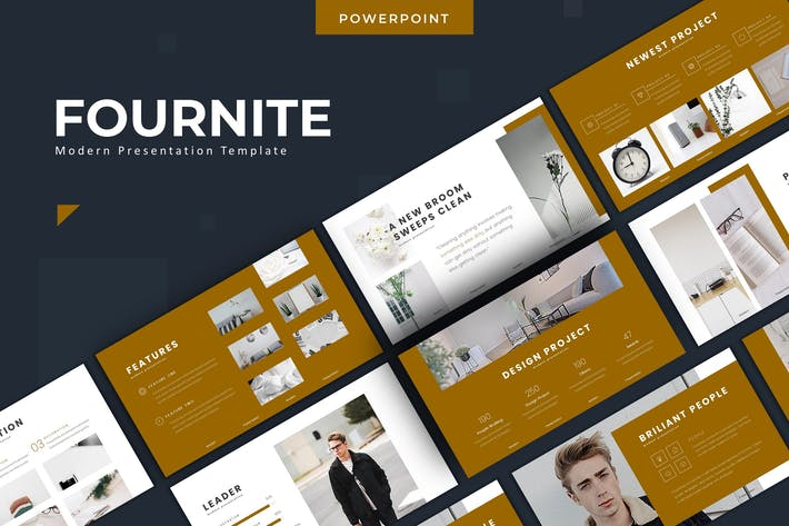 Thumbnail for Fournite - Powerpoint Template