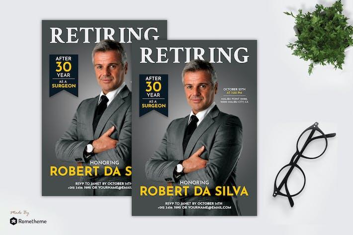Thumbnail for Robert Da Silva - Retiring Flyer RB