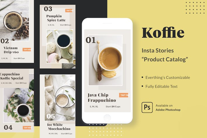 Thumbnail for Koffie Insta Stories - Product Catalog