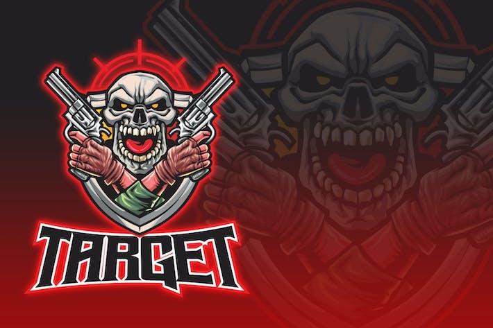 Thumbnail for Logo Esport Skull Gangster