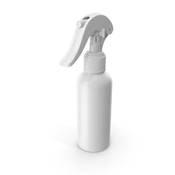Спрей бутылка белый многоразовый 100 мл