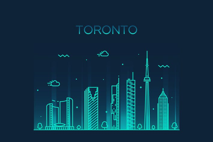 Thumbnail for Toronto skyline, Canada