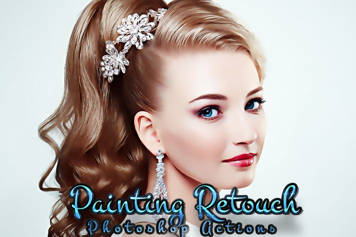 Painting Retouch Photoshop Actions
