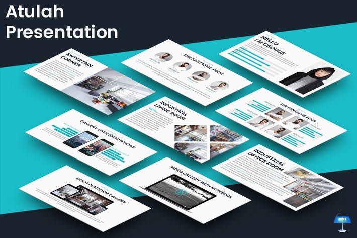 Atulah Keynote Presentation Template By Inspirasign On Envato Elements