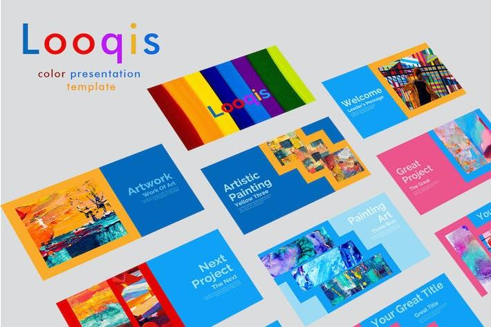 Looqis - Многоцелевая презентация Keynote докладов