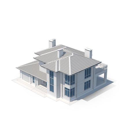 Villa Building Sketch