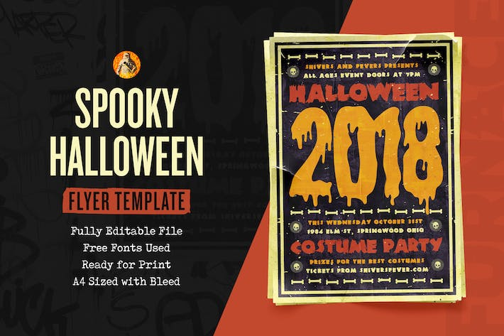 Thumbnail for Spooky - Halloween Flyer Template