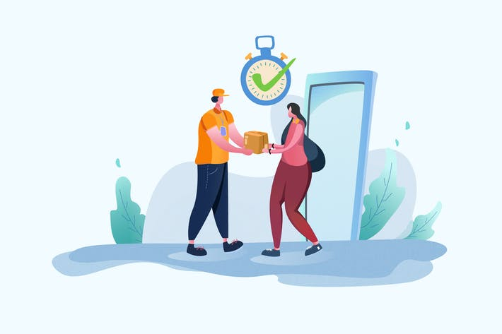 Thumbnail for Delivery Services - Vector Illustration