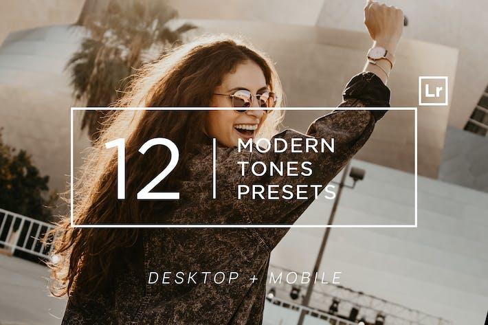 Thumbnail for 12 Modern Tones Ligtroom Presets + Mobile