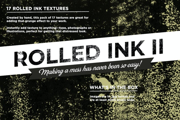 Thumbnail for Rolled Ink II