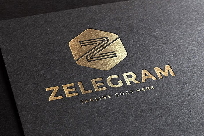 Thumbnail for Zelegram Letter Z Logo Template