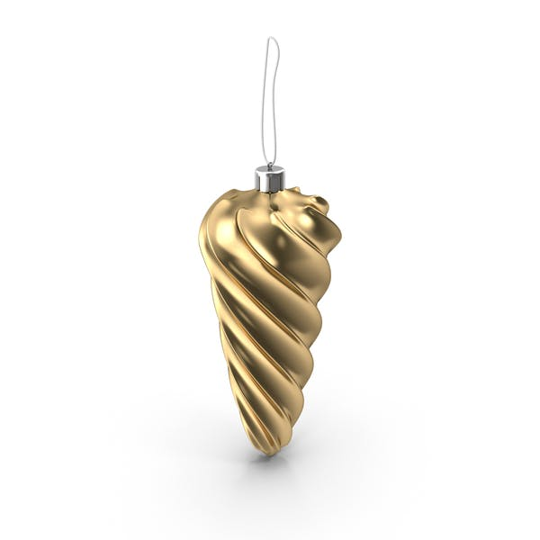Cover Image for Christmas Gold Icicle Ornament