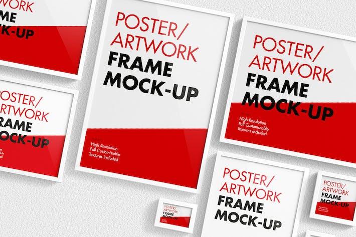 Thumbnail for Poster / Artwork Frame Mock-Up