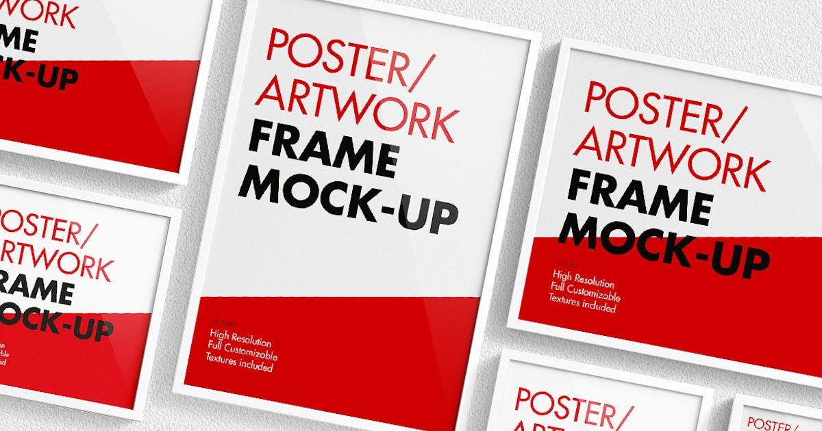 Download Poster / Artwork Frame Mock-Up by visconbiz