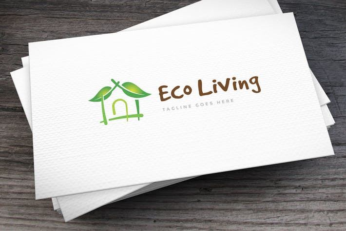 Thumbnail for Eco Living Logovorlage