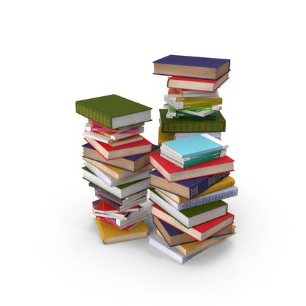 Montones de libros