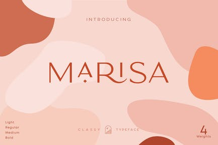 Classy Marisa - Elegant Typeface