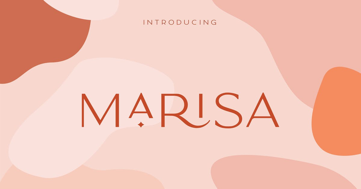 Download Classy Marisa - Elegant Typeface by NEWFLIX
