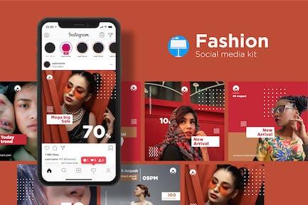 Fashion Social Media Kit - Keynote