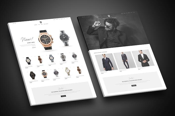 Thumbnail for Romeo - Luxury Modern WooCommerce WordPress Theme