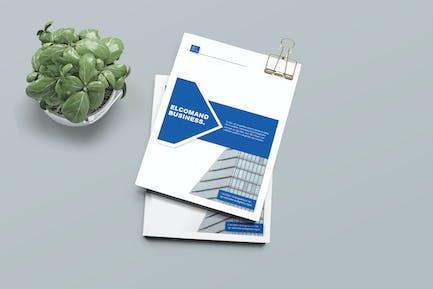 ELCOMAND - Bi Fold Business Brochure Template