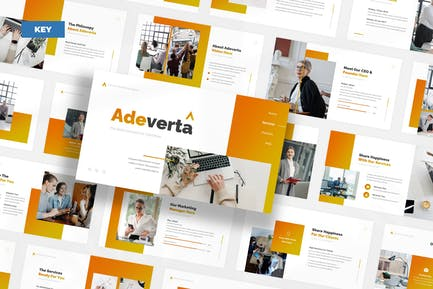 Adeverta Advertising Agency - Keynote UP