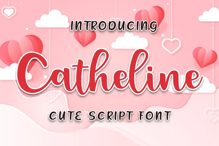 Thumbnail for Catheline mignon script