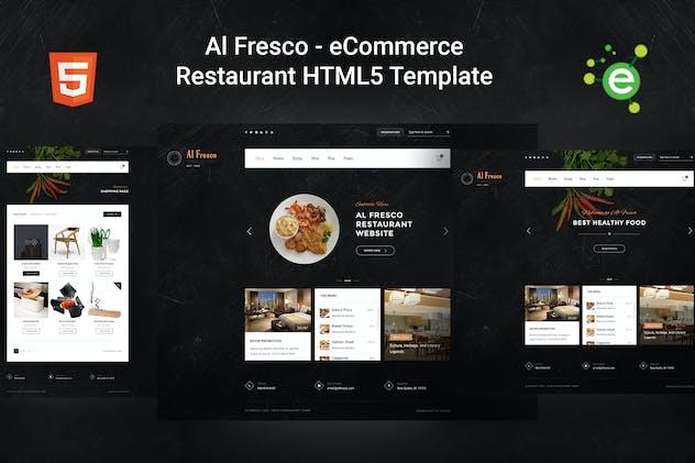 Al Fresco – eCommerce Restaurant HTML5 Template