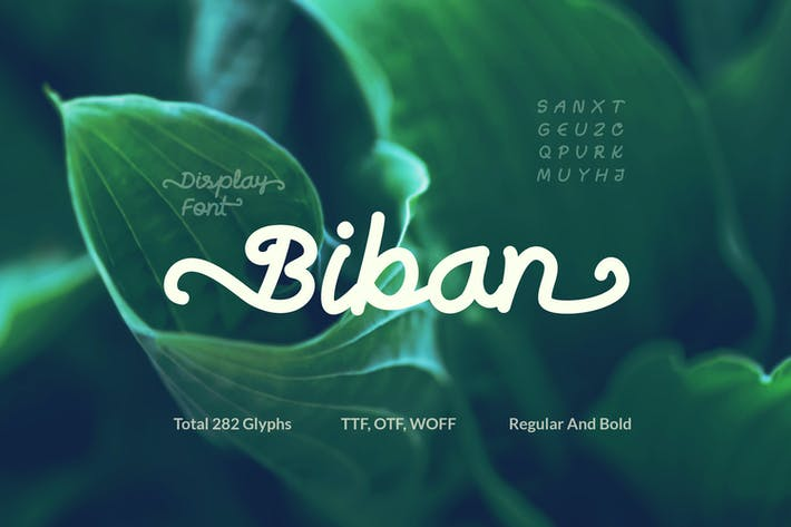 Thumbnail for Biban Handwritten Script