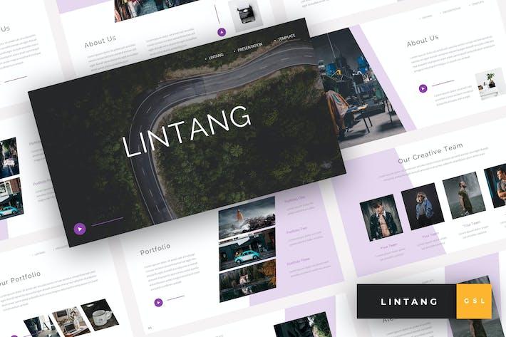 Thumbnail for Lintang - Creative Google Slides Template