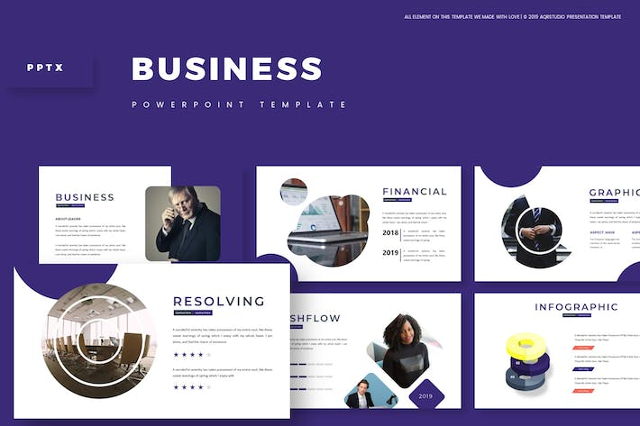 Cover Image For Business - Powerpoint Template